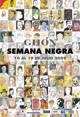 XXII Semana Negra de Gijón: Ganadores de los Premios Literarios